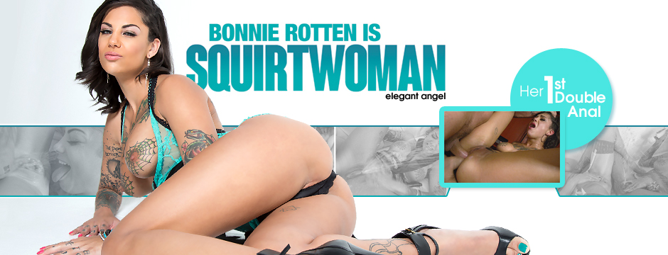 Watch Elegant Angel Bonnie Rotten Is Squirtwoman, streaming at the official Elegant Angel Store