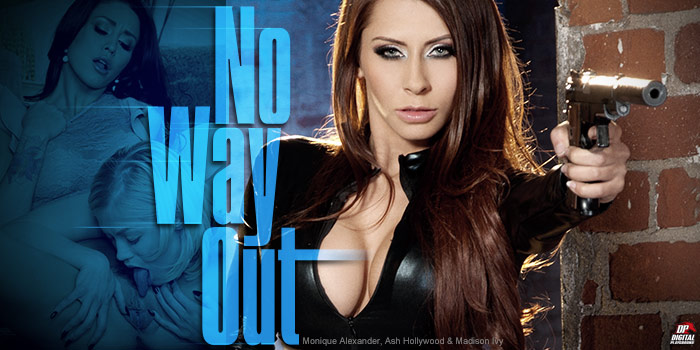 Watch No Way Out  from Digital Playground starring Ash Hollywood and Monique Alexander.