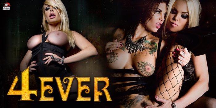 Watch 4Ever from Digital Playground starring Bonnie Rotten and Jesse Jane.