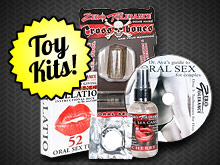 3rd Degree presents Zero Tolerance Sex Toy Kits.